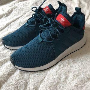 Blue & red adidas XPLR